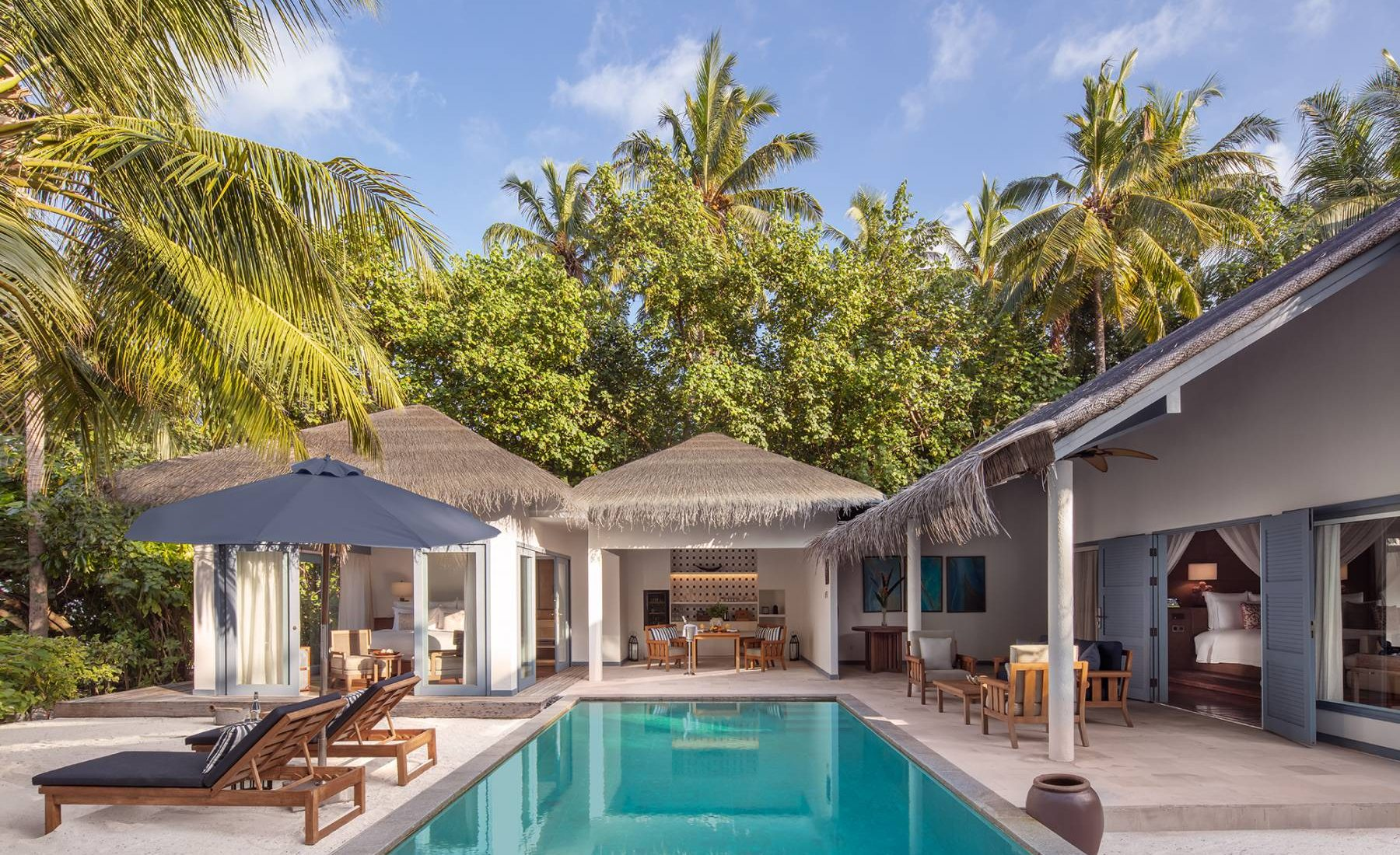 Raffles Maldives Meradhoo - Beach Residence with Private Pool